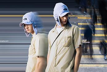 TNF UE春夏21系列「喧嚣都市」別注系別03